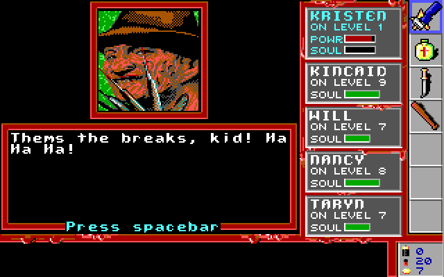 A Nightmare on Elm Street (game) - Retro Legends