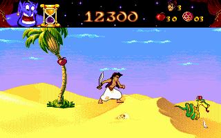 Aladdin genesis game genie